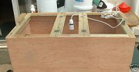 POULTRY BROODER WITH LAMP FOR CHICKS, DUCKLINGS AND QUAIL